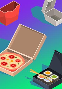 Доставка піци та суші